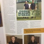 Insider magazine article for Cairns Beaches Storage