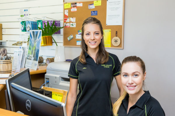 Staff members at Cairns Beaches Storage
